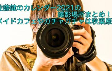 佐藤健 カレンダー 2021 撮影場所