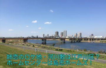姉ちゃんの恋人 ロケ地 河川敷
