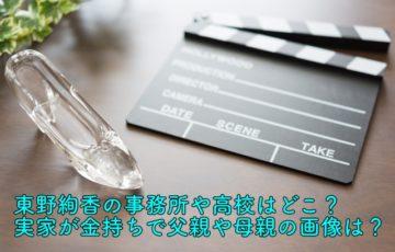 東野絢香 事務所