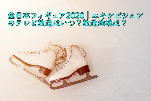 全日本フィギュア2020 エキシビション 放送