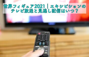 世界フィギュア2021 エキシビション テレビ