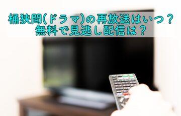 タイトル 桶狭間 ドラマ 再放送 キャプション