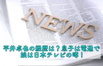 平井卓也 経歴